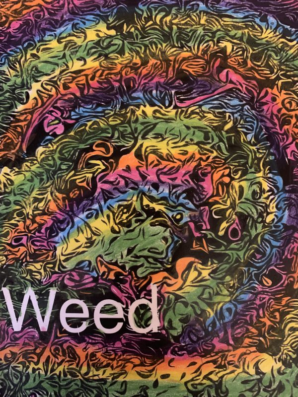 Coloring page weed