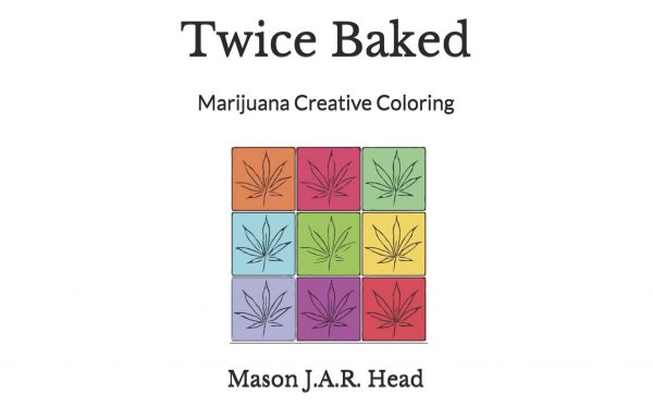 Marijuana coloring book